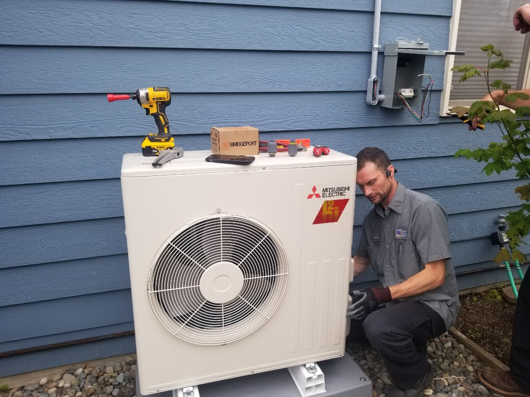 Mountlake Terrace, WA - Electrical install new heat pump system and disconnect