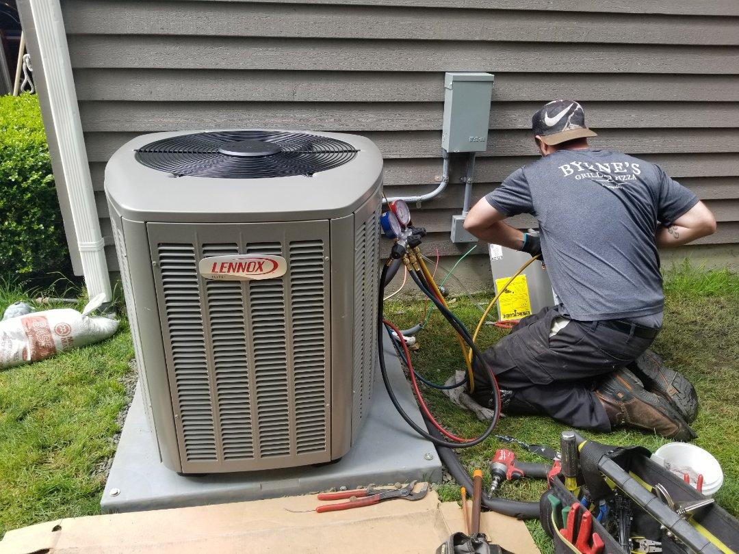 Mukilteo, WA - Electrical install new AC system and furnace upgrade