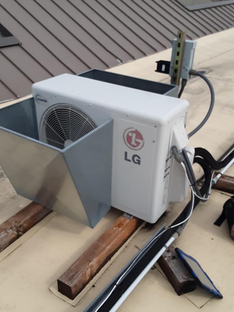 Edmonds, WA - Maintenance on an LG ductless heat pump in Edmonds