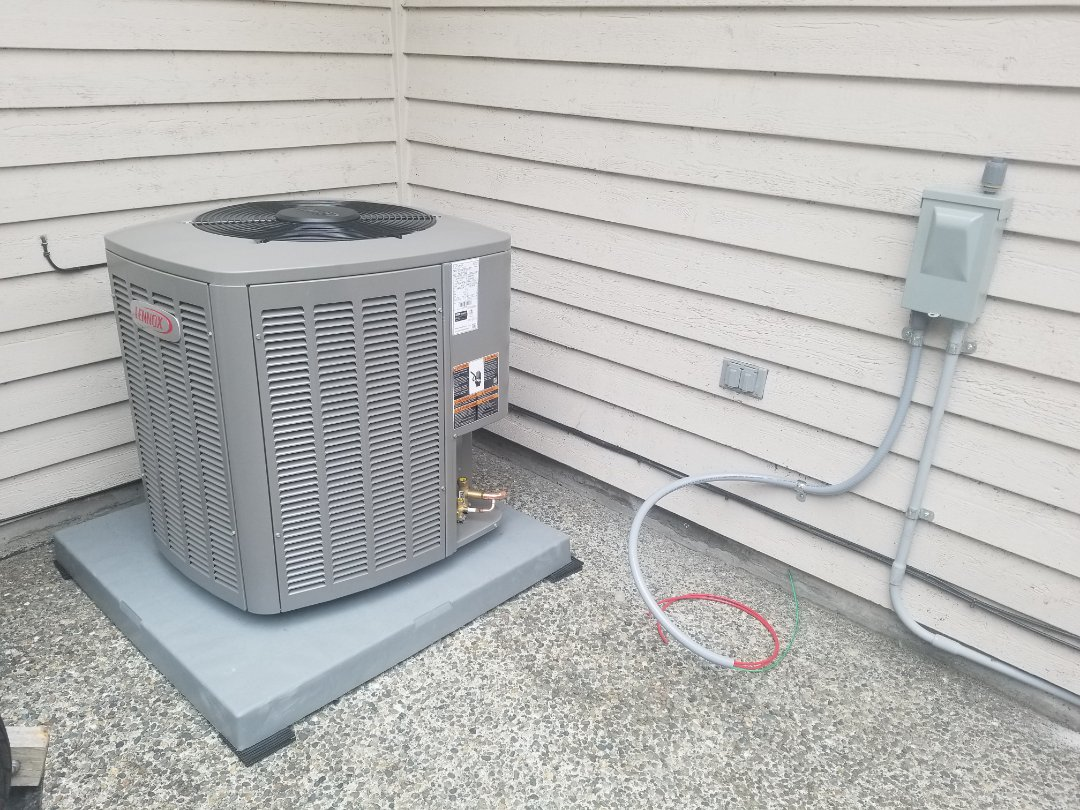 Brier, WA - Electrical install new AC system and furnace upgrade