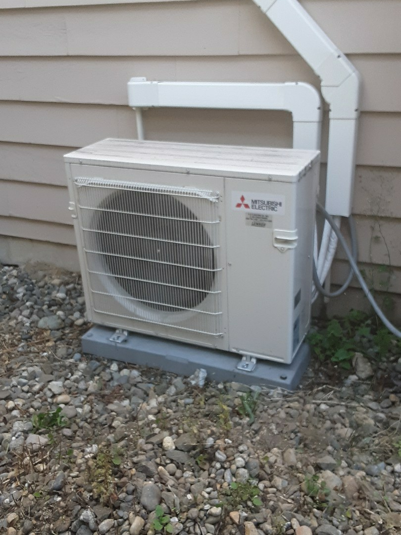 Brier, WA - Plan maintenance on a Lennox ductless heat pump in Bothell