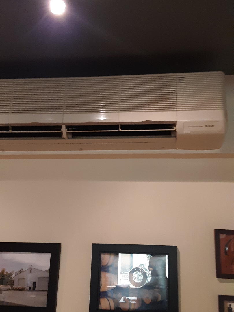 Bothell, WA - Diagnostics and condensate drain line repair on a Mitsubishi ductless heat pump in Woodinville