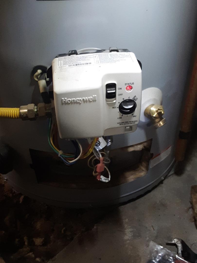 Mukilteo, WA - Planned maintenance on a state water heater in Everett