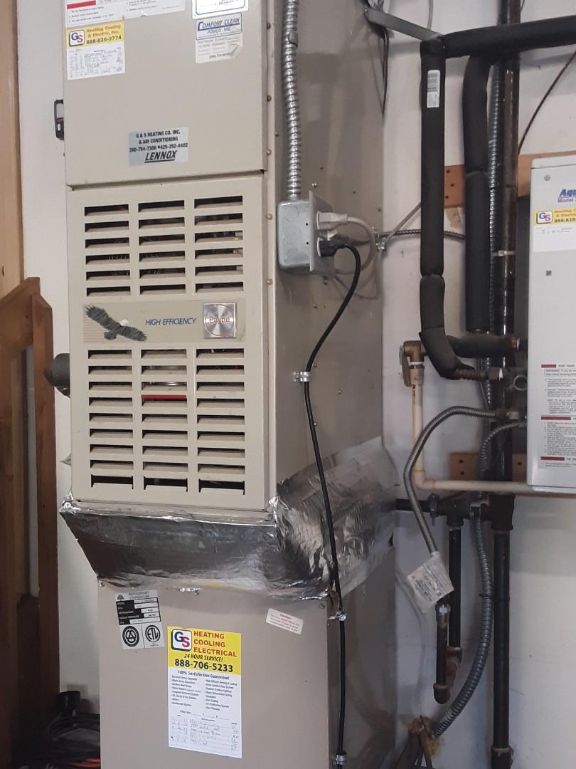 Brier, WA - Planned maintenance on a Payne gas furnace in Millcreek