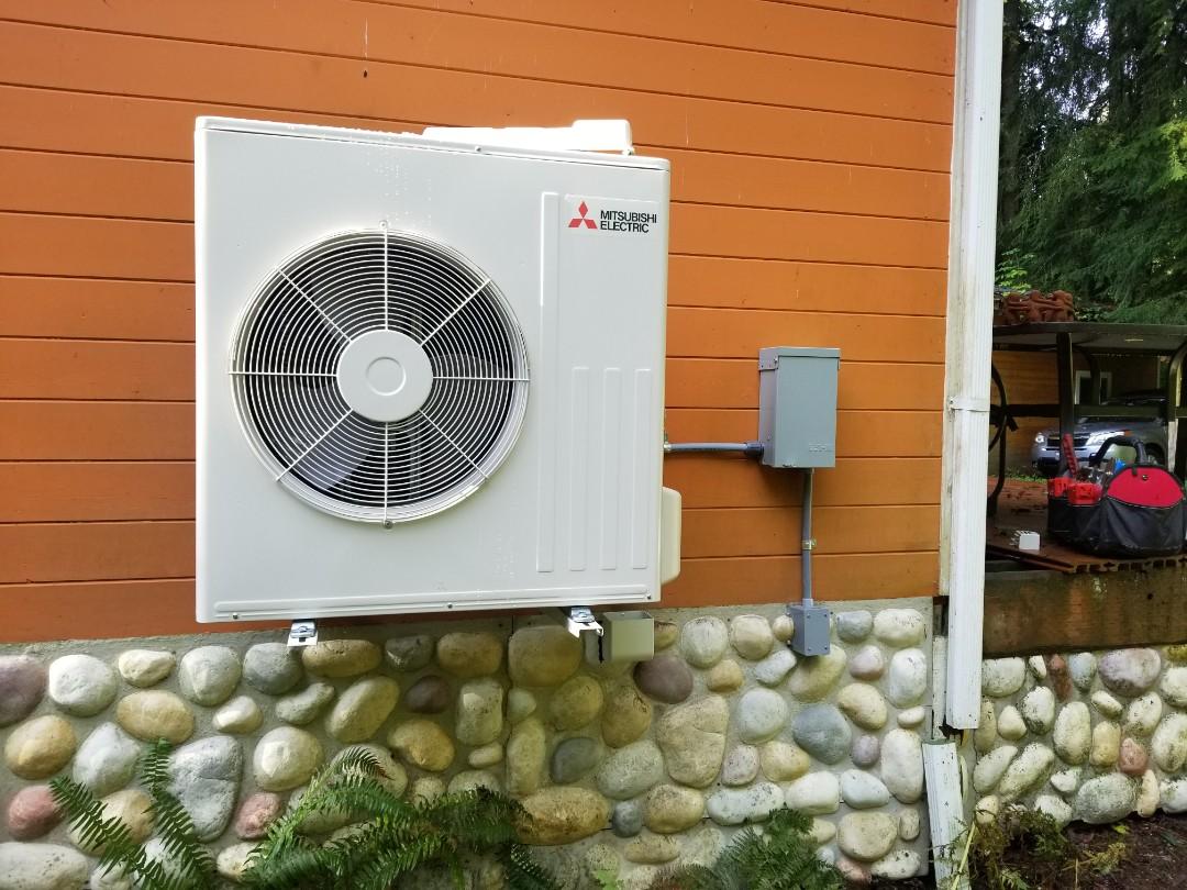 Granite Falls, WA - Electrical install new heat pump system