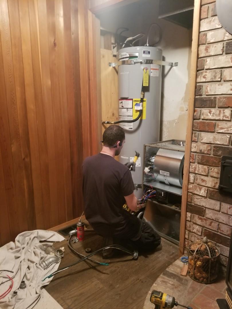 Granite Falls, WA - Electrical install new furnace