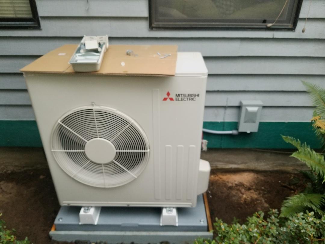 Arlington, WA - Electrical install new heat pump system