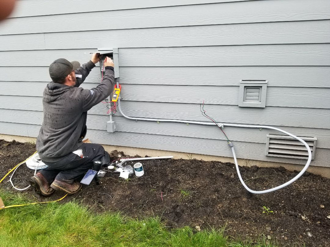 Granite Falls, WA - Electrical install new heat pump system and furnace upgrade
