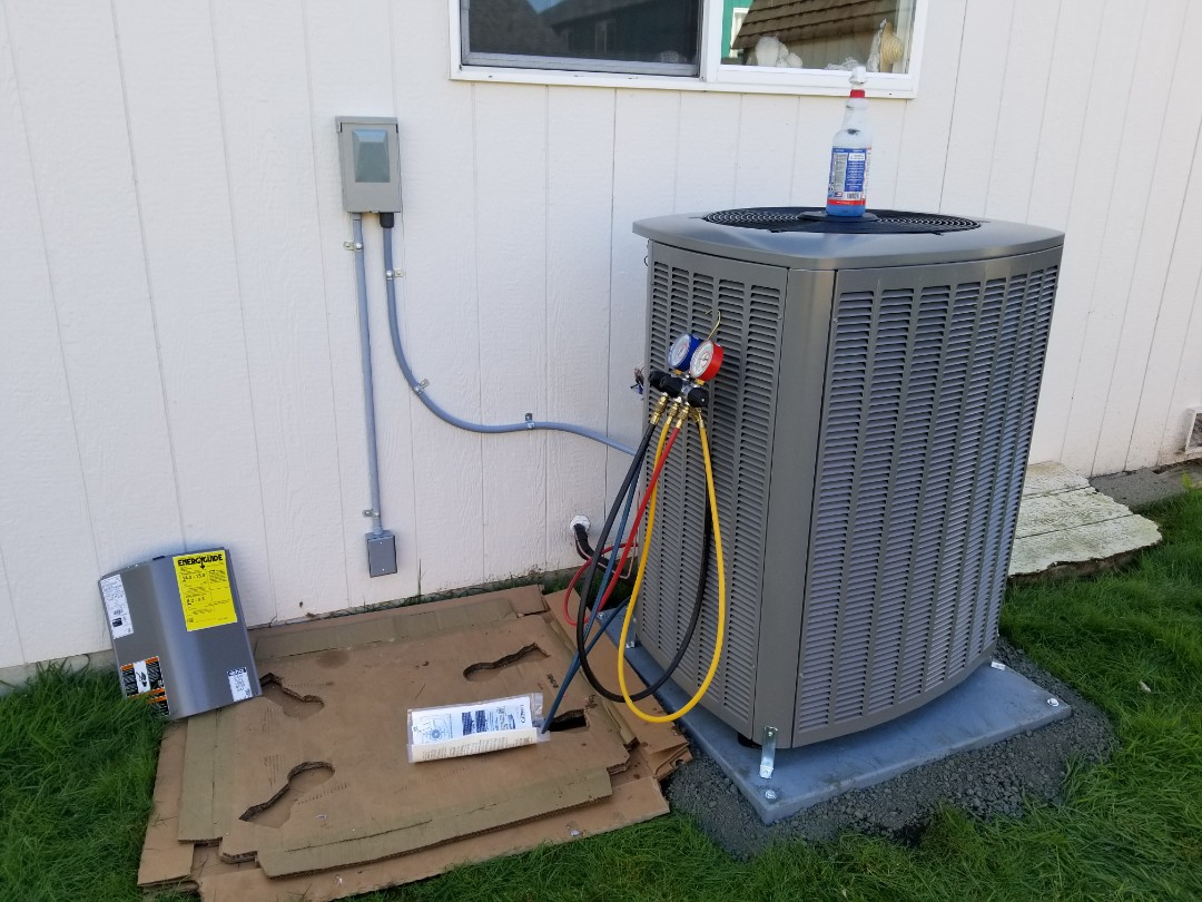 Monroe, WA - Electrical install new heat pump system and furnace upgrade