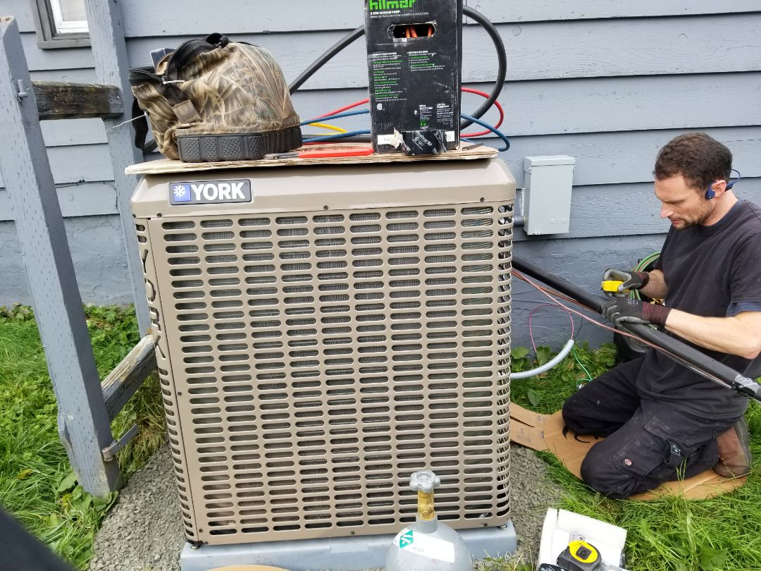 Everett, WA - Electrical install new heat pump system and furnace upgrade