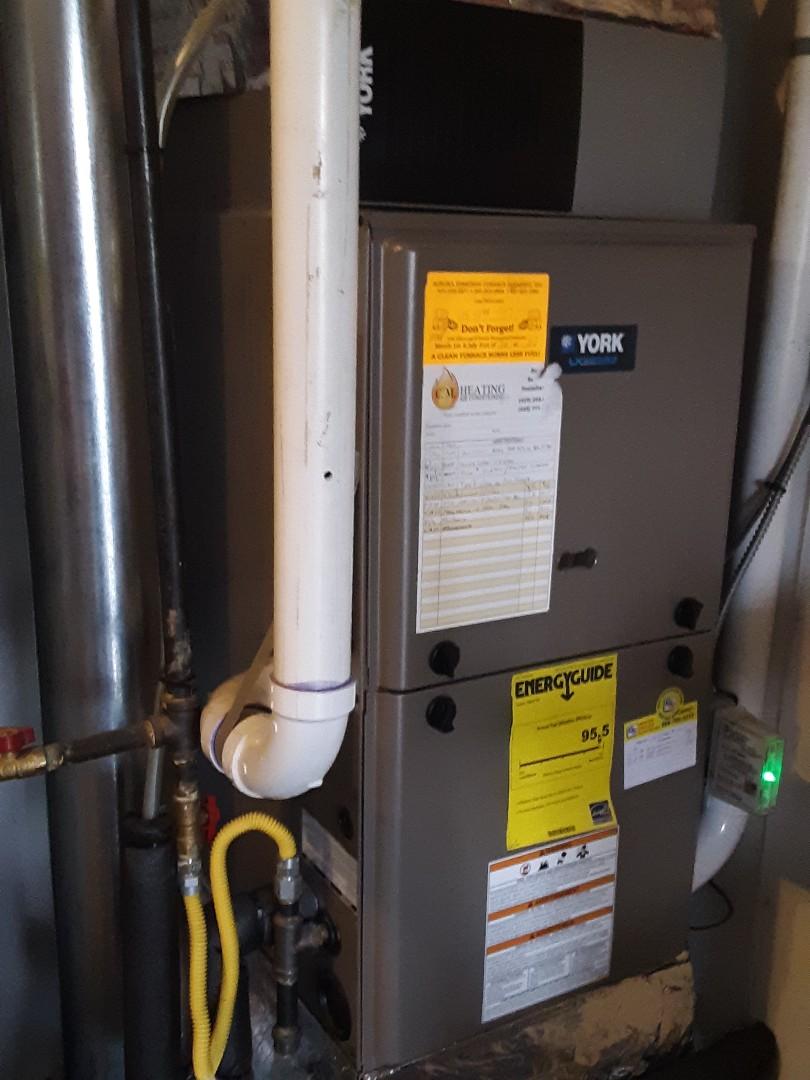 Everett, WA - Tune up on a York gas furnace in Everett