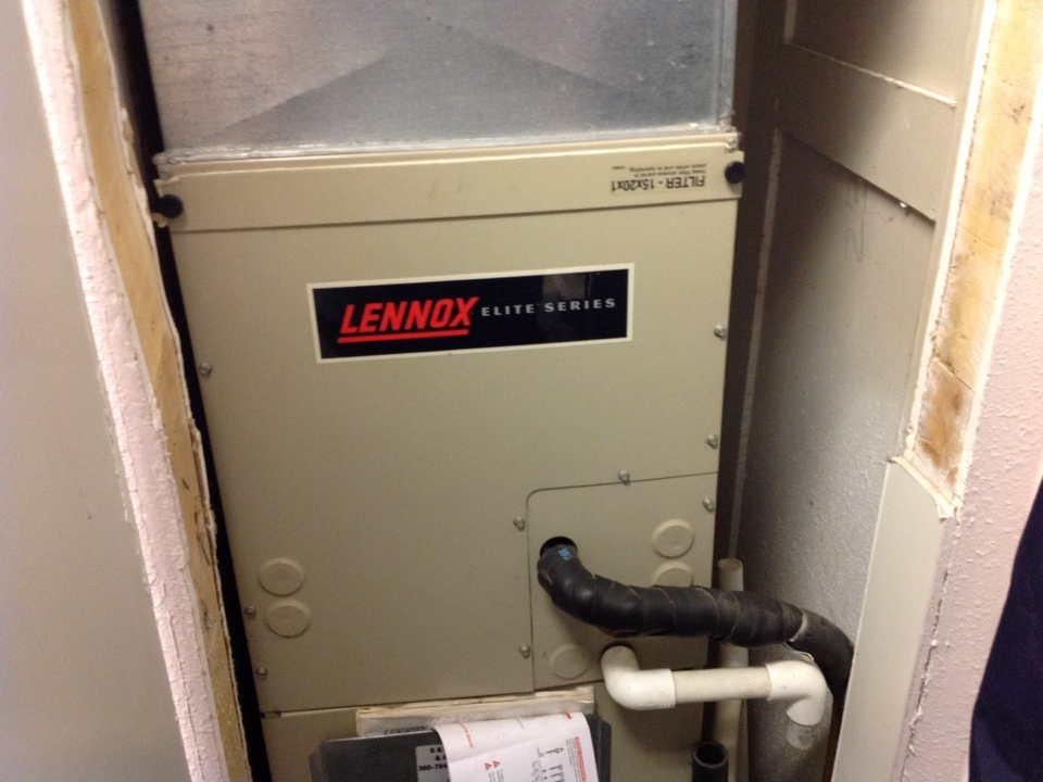 Monroe, WA - Clean air handler coil lennox monroe