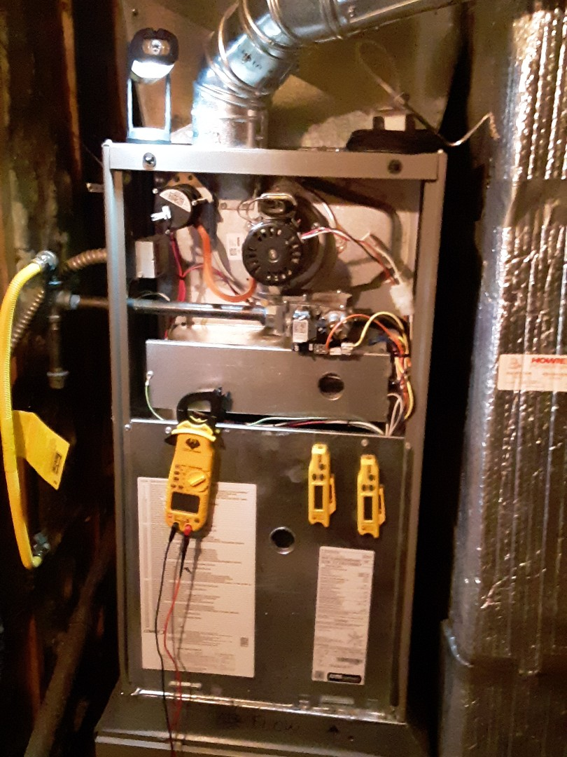 Edmonds, WA - Planned maintenance on a Lennox gas furnace in Lynnwood