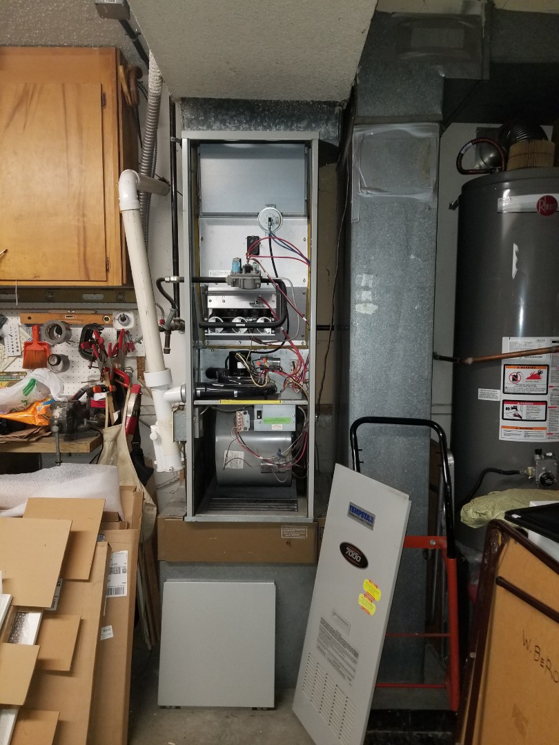 Edmonds, WA - Providing an estimate to install a Lennox Elite Series furnace in Edmonds.