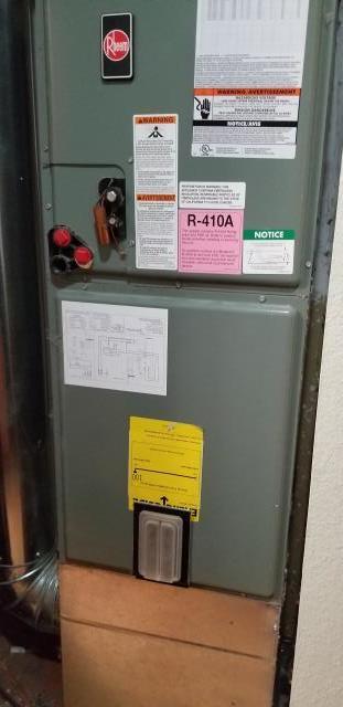 Lynnwood, WA - Replacing furnace with new Lennox heat pump system in Lynnwood Washington