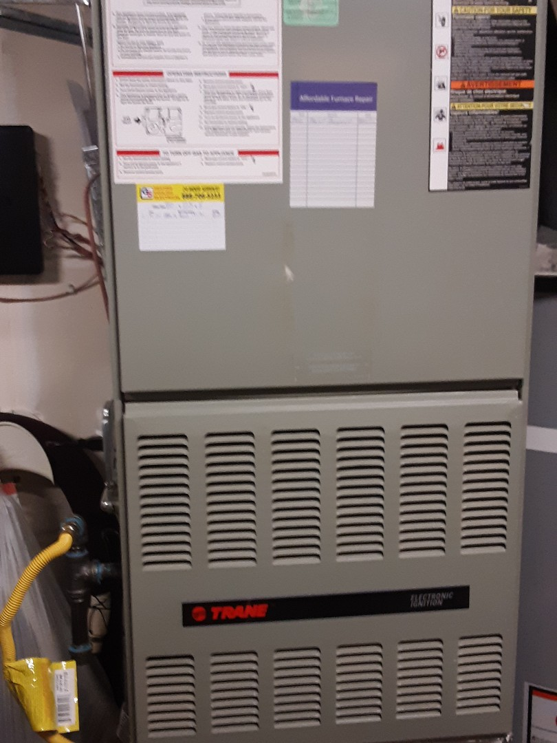 Brier, WA - Planned maintenance on a Trane gas furnace in Brier