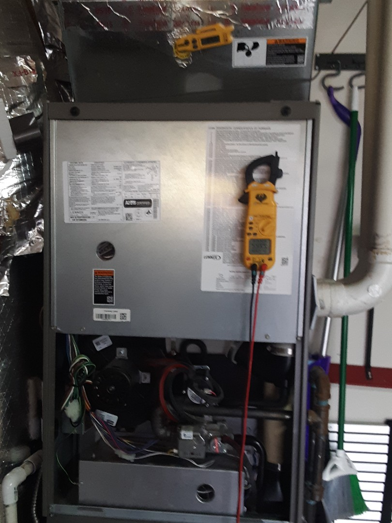 Bothell, WA - Planned maintenance on a Lennox gas furnace in Bothell