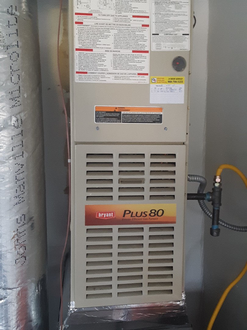 Edmonds, WA - Performed planned maintenance on a Bryant gas furnace and replaced hot surface ignitor in edmonds