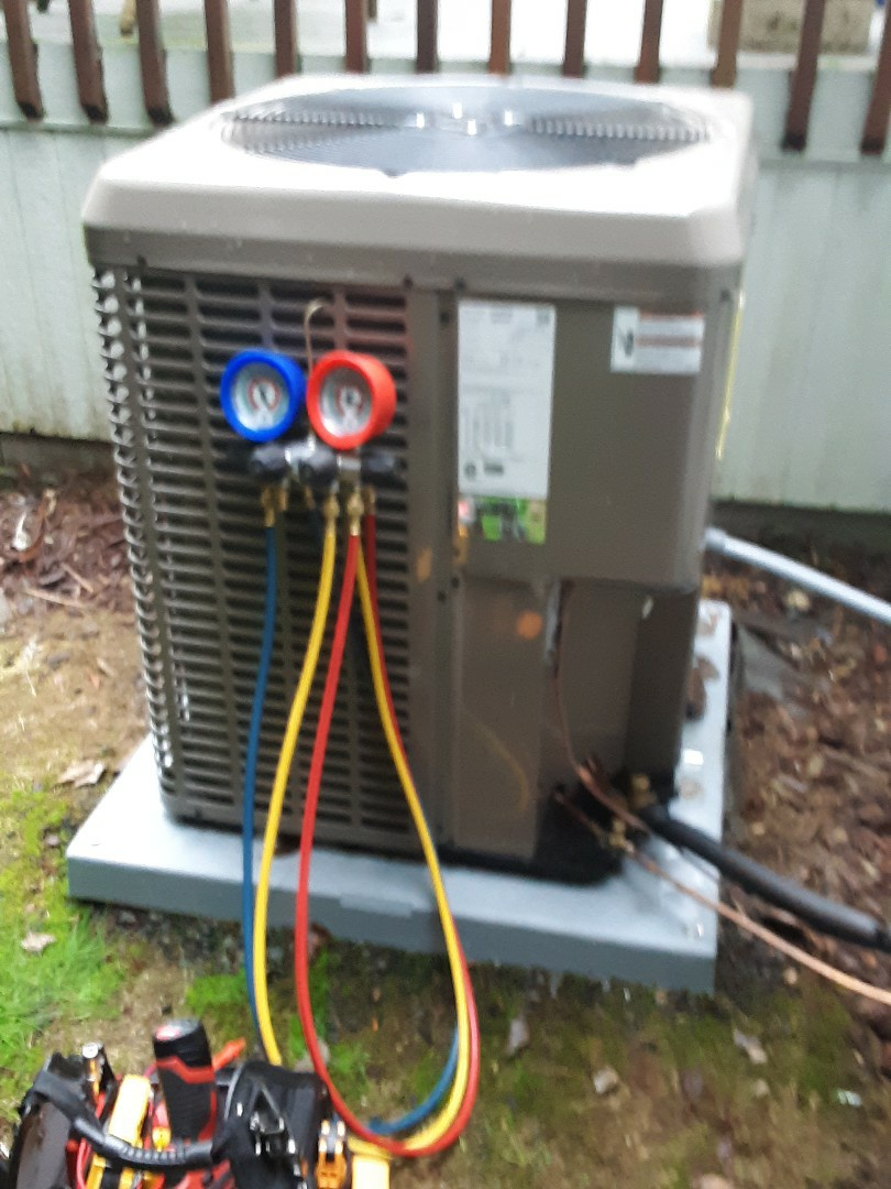 Mill Creek, WA - Tune-up on a York gas furnace and heat pump system in Mill Creek