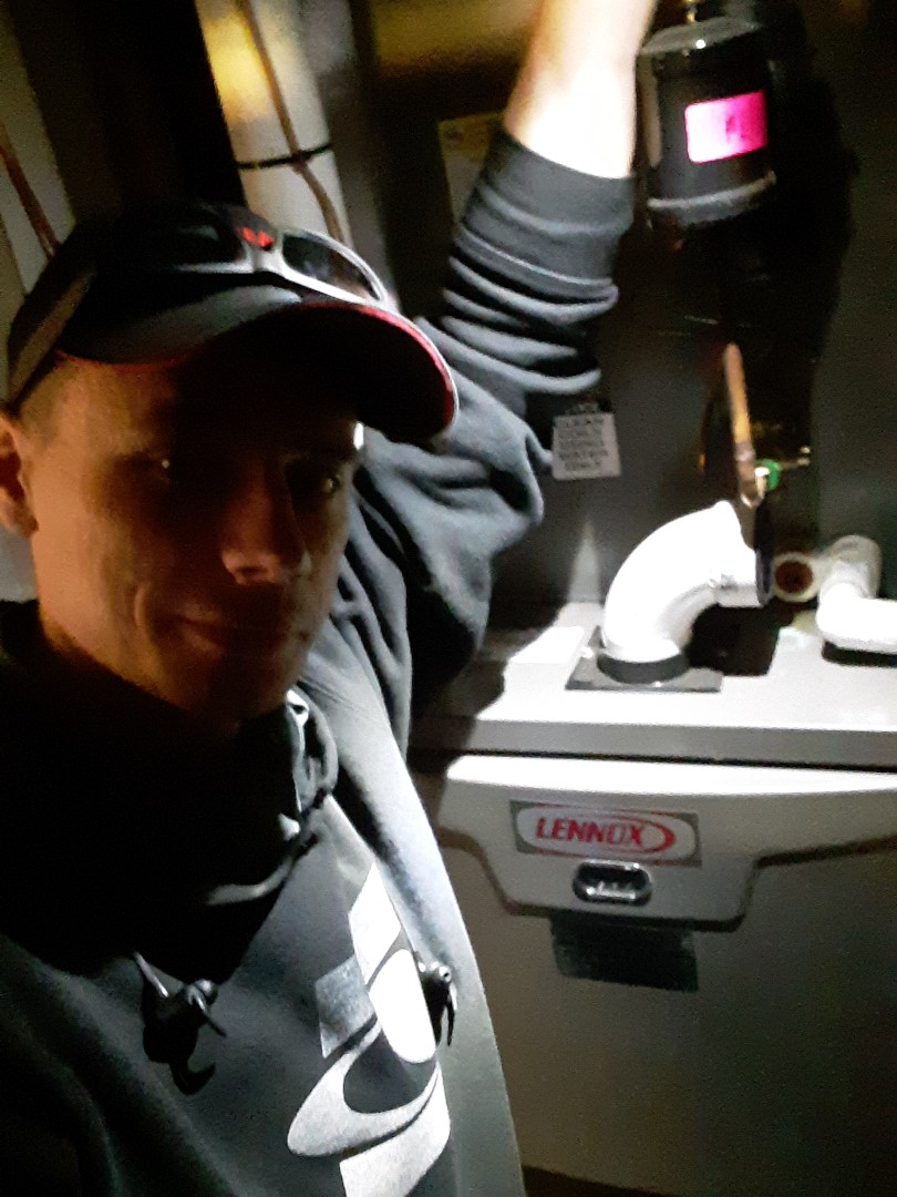 Bothell, WA - Performed routine planned maintenance on a Lennox gas furnace in Bothell