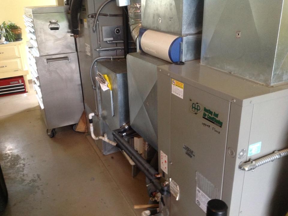 Monroe, WA - Yearly maintenance on two Florida Heat Pump geothermal systems. Monroe, WA.