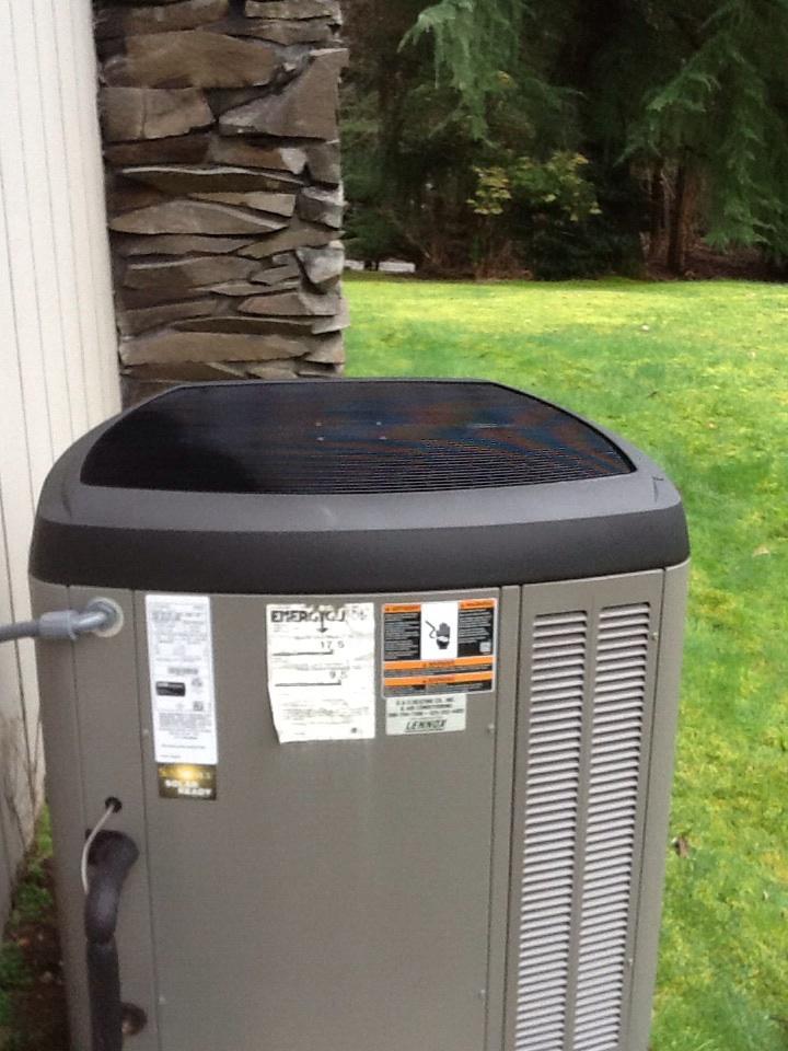 Monroe, WA - Maintenance ,repair on a Lennox heat pump, AC in Monroe