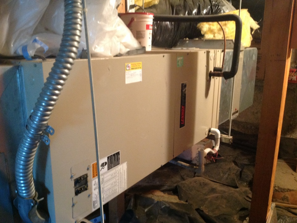 Monroe, WA - Lennox heatpump with air conditioning repair monroe