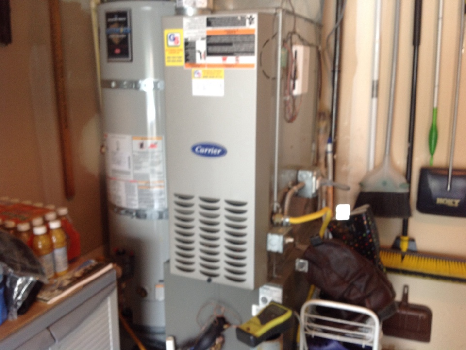 Monroe, WA - Carrier furnace and lennox heatpump and air conditioning service monroe