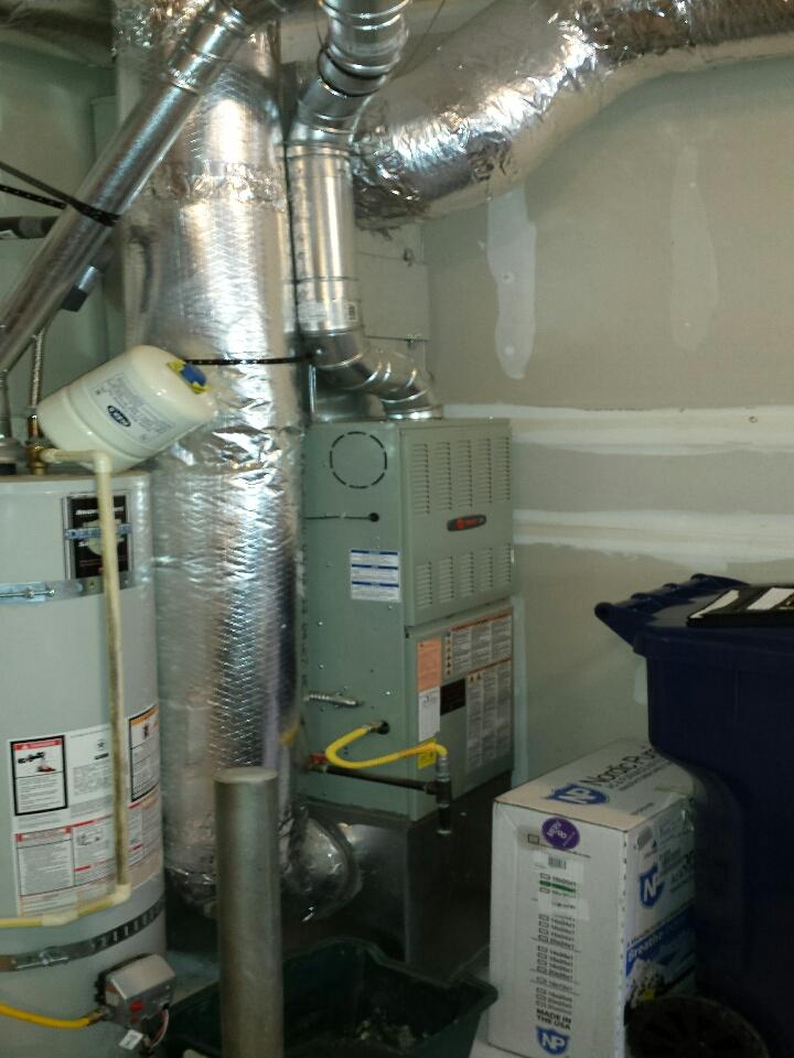 Mount Vernon, WA - Installing Lennox air conditioner in Mt Vernon.
