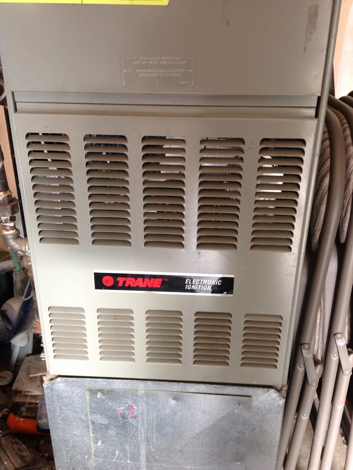 Monroe, WA - Performed gas furnace precision tune up on a Trane natural gas furnace. Monroe, WA.
