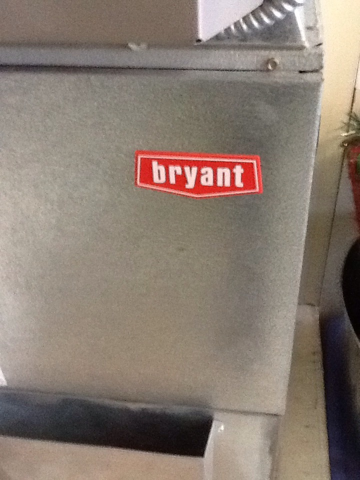 Monroe, WA - Tune up on a Bryant gas furnace in Monroe