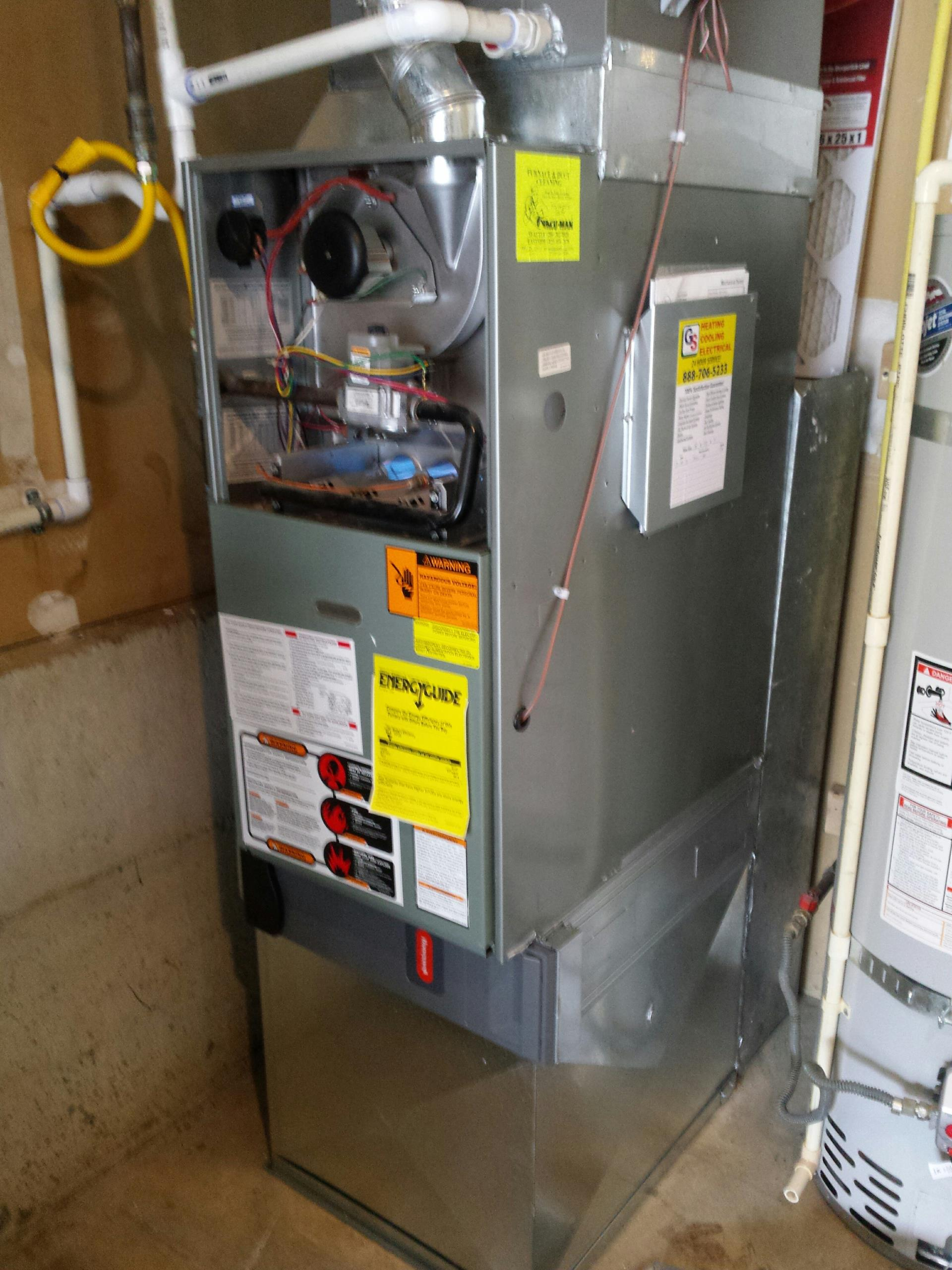 Kirkland, WA - Gas Furnace service and repair