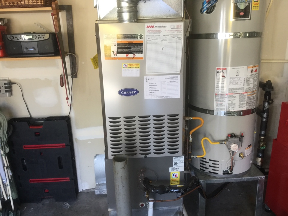 Redmond, WA - Carrier gas furnace sale inspection Monroe