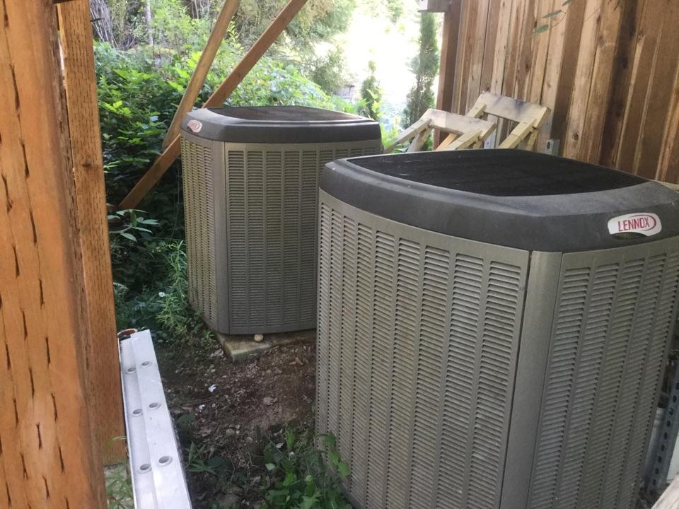 Monroe, WA - Lennox heat pump service sultan