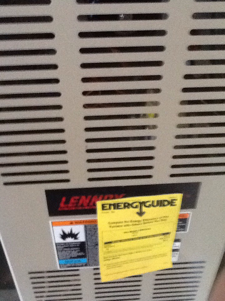 Monroe, WA - Maintenance on a Lennox air conditioner in Monroe
