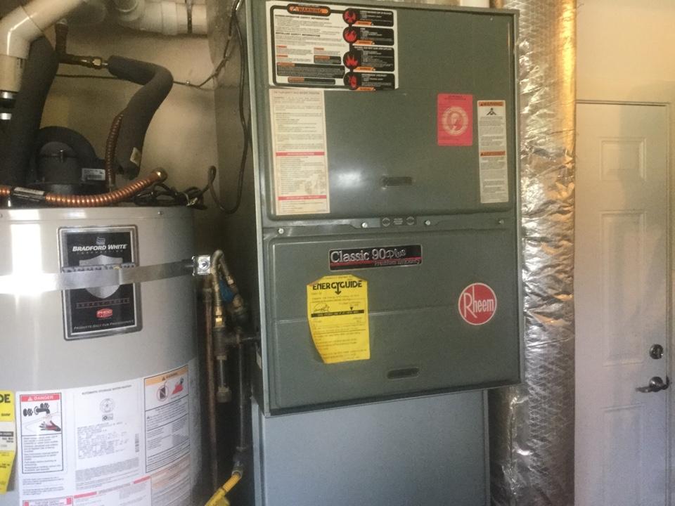 Monroe, WA - Rheem furnace repair Monroe