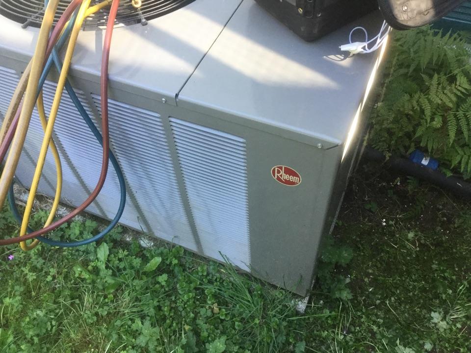 Monroe, WA - Rheem heat pump service Monroe