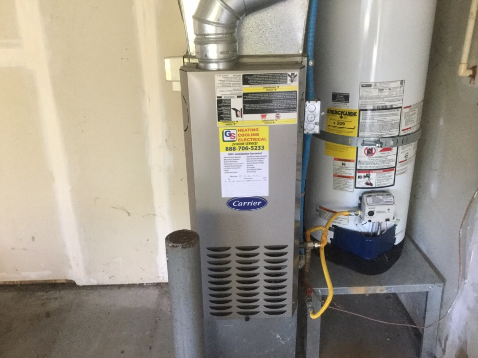 Monroe, WA - Carrier gas furnace inspection and tune up Monroe