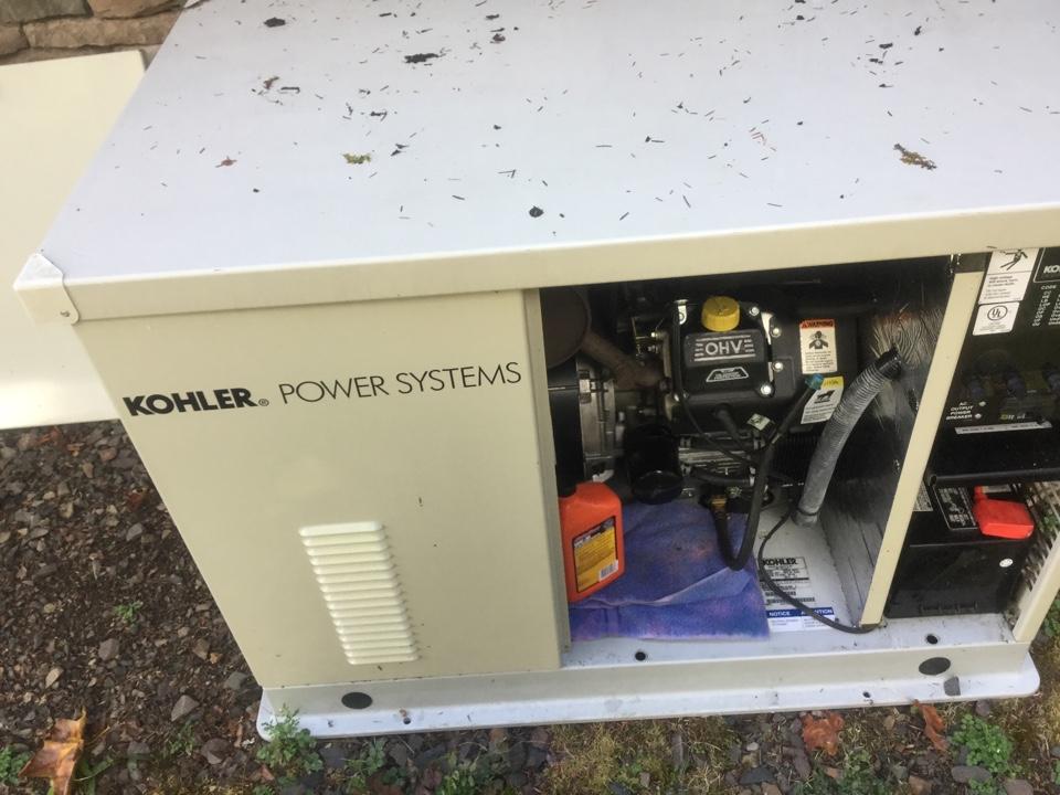 Monroe, WA - Koehler generator oil change and tune up Monroe