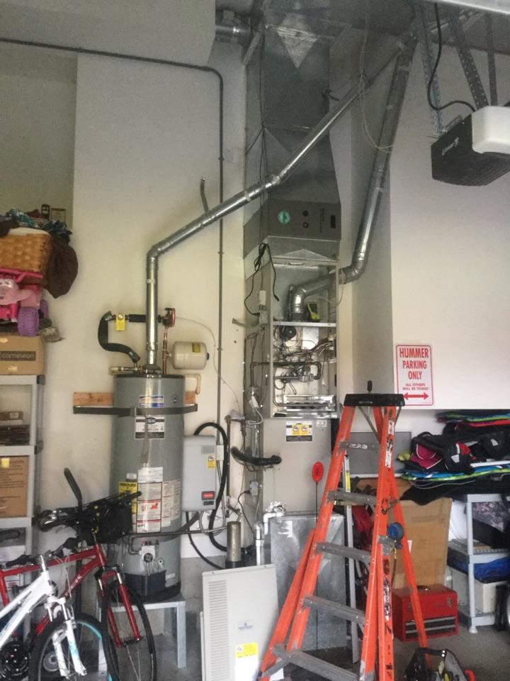 Redmond, WA - Performing a planned maintenance on a Kelvinator duel fuel system in Redmond WA.