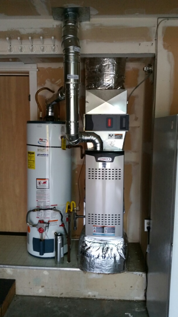 Monroe, WA - Install. Swapped out gas furnace