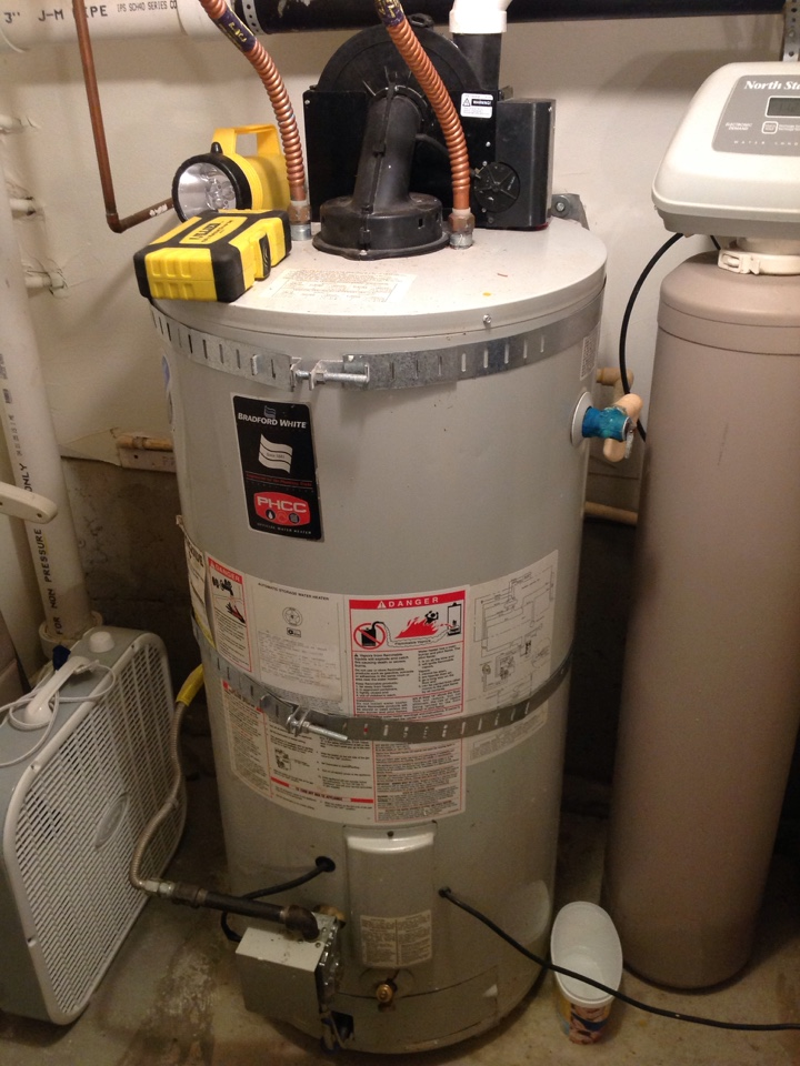 La Conner, WA - Performed service call on a Bradford Whit power vented water heater. Found loose wiring. Repaired, and water heater is operating normally at this time. Camano Island, WA.