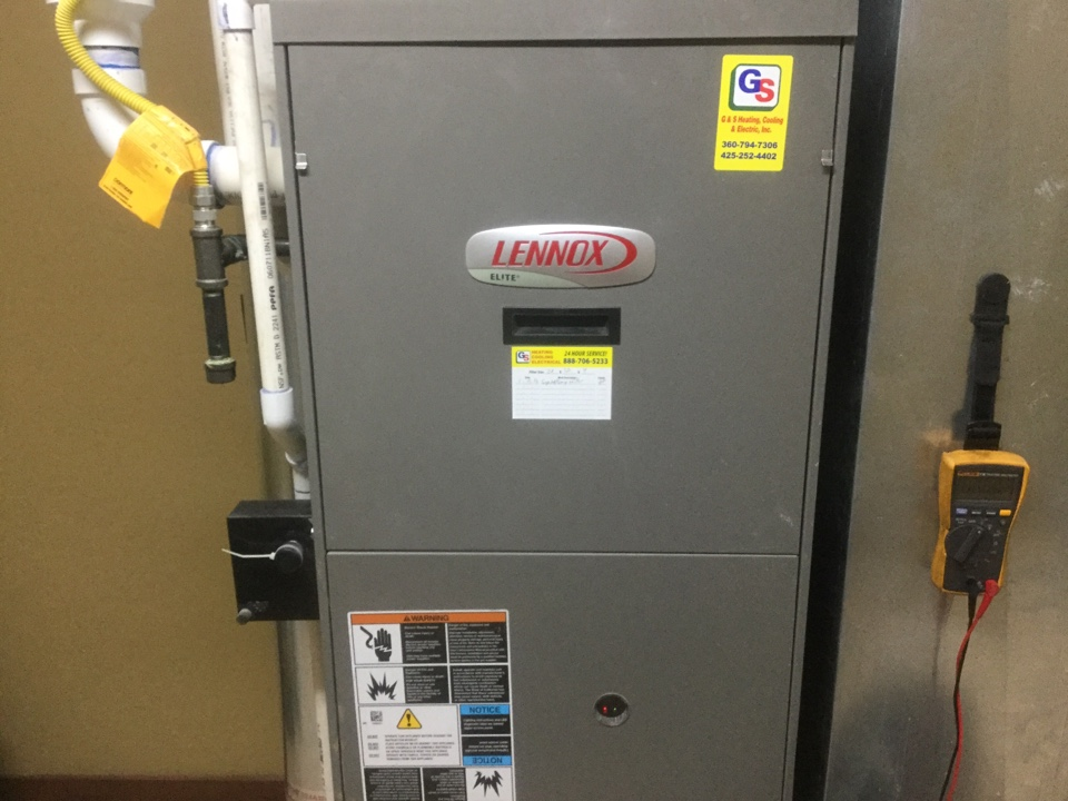 Bellevue, WA - Lennox gas furnace repair Bellevue