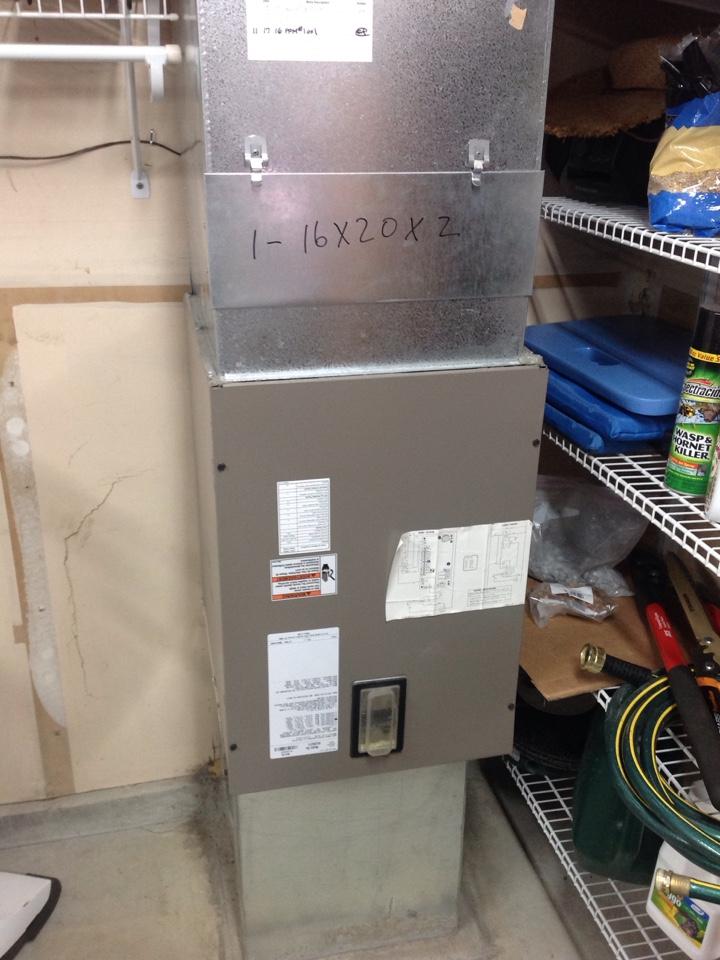 Shoreline, WA - Performed annual maintenance on a York electric furnace. Shoreline, WA.