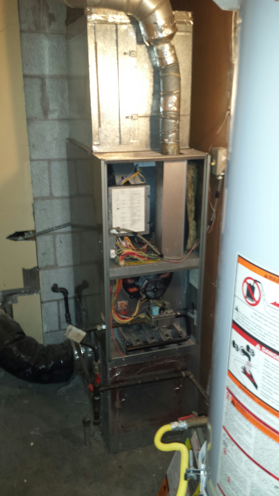 Edmonds, WA - Repairing Rheem furnace in Edmonds.