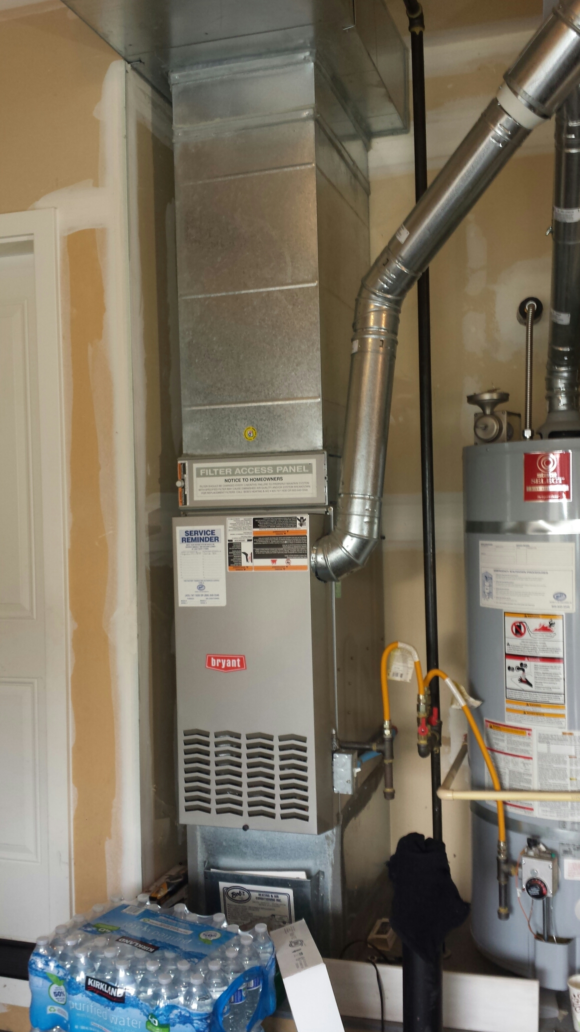 Bothell, WA - Repairing Bryant furnace in Bothell.