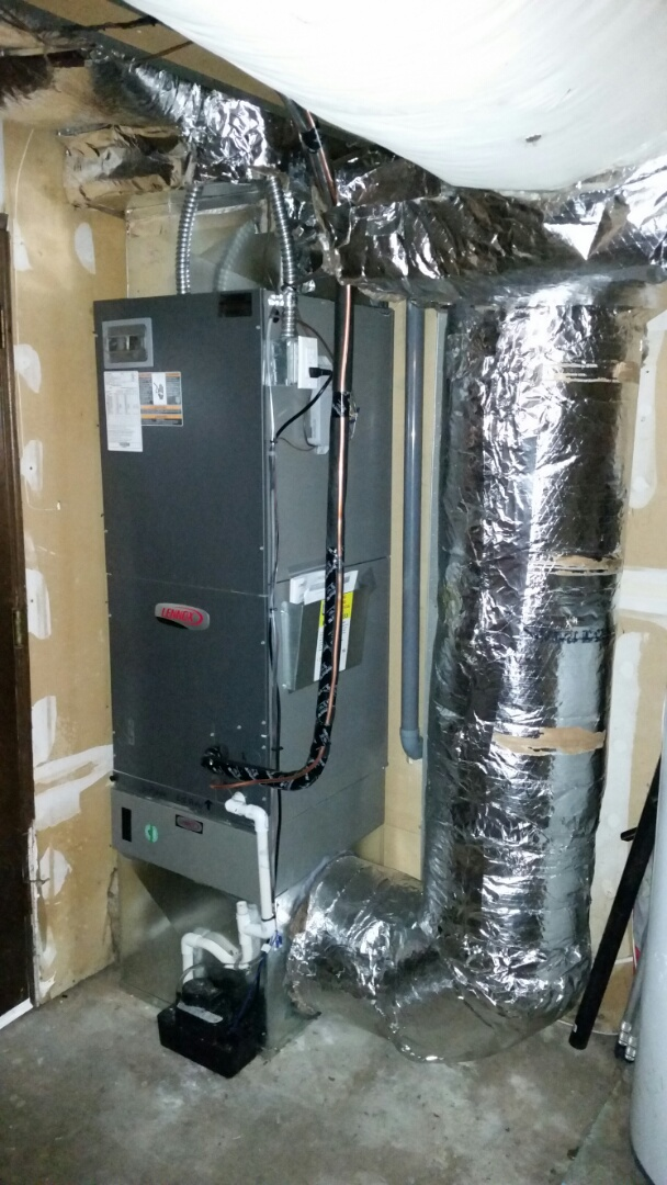 Bothell, WA - Install. Air handler and heat pump replacement