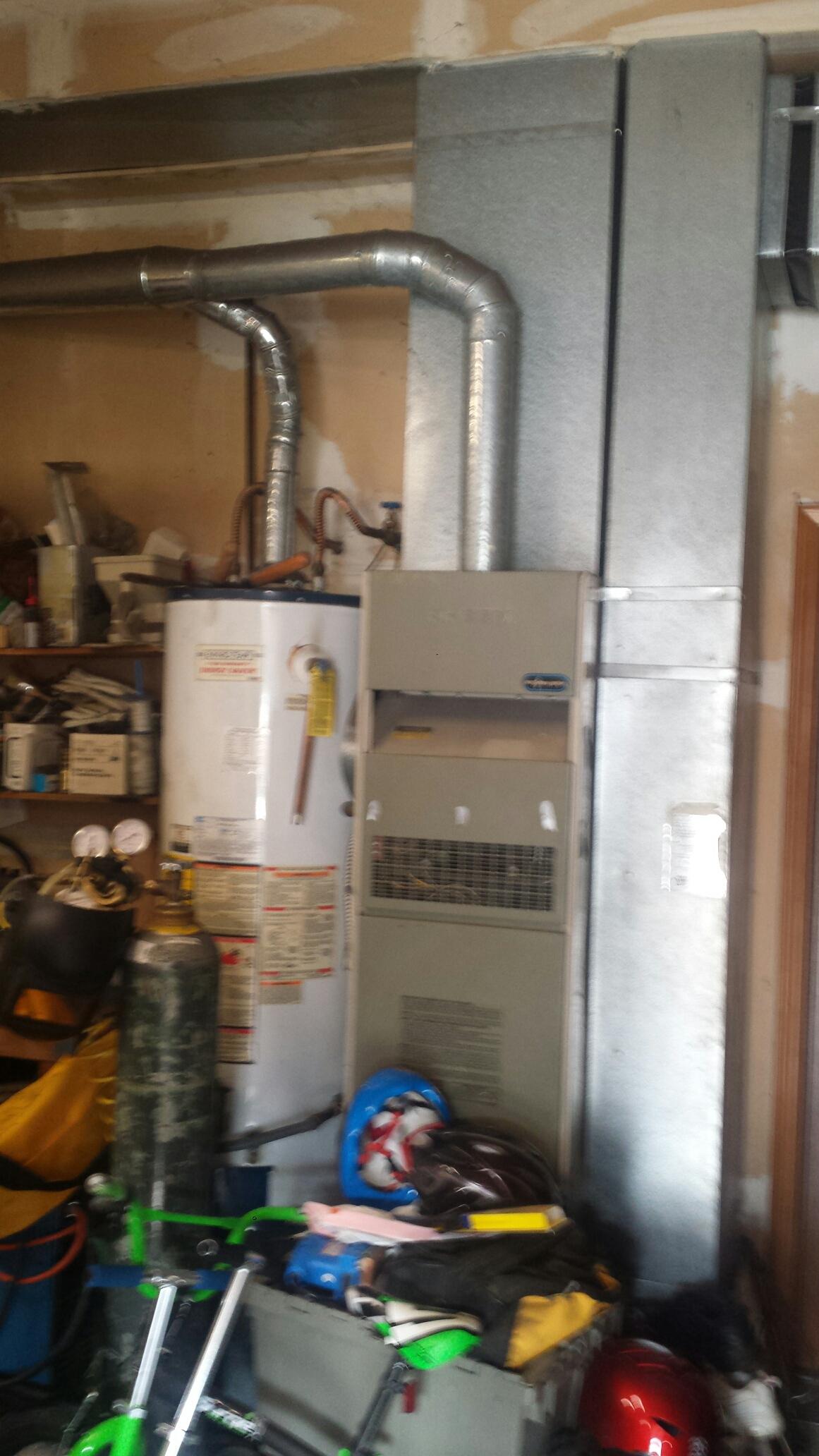 Lynnwood, WA - Repairing Rheem furnace in Everett.
