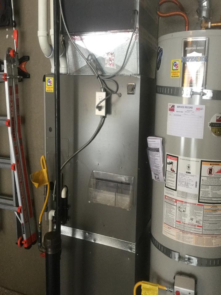 Snohomish, WA - Lennox gas furnace service snohomish