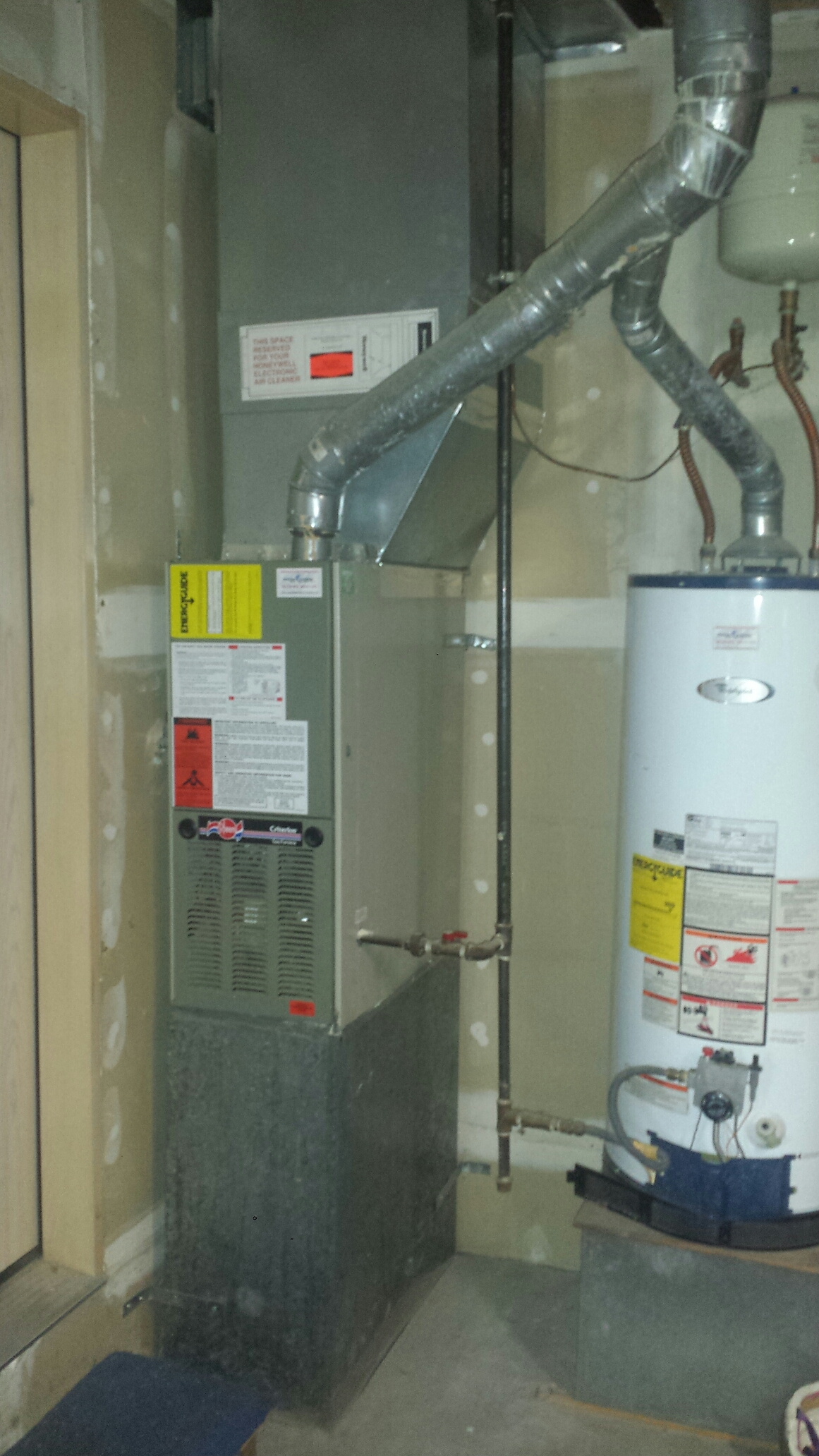 Lake Stevens, WA - Repairing Rheem furnace in Lake Stevens.